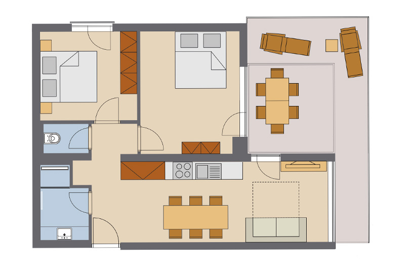 Two Bedroom Apartment #10