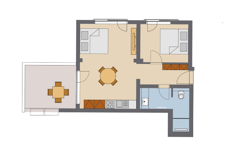 One Bedroom Apartment #4