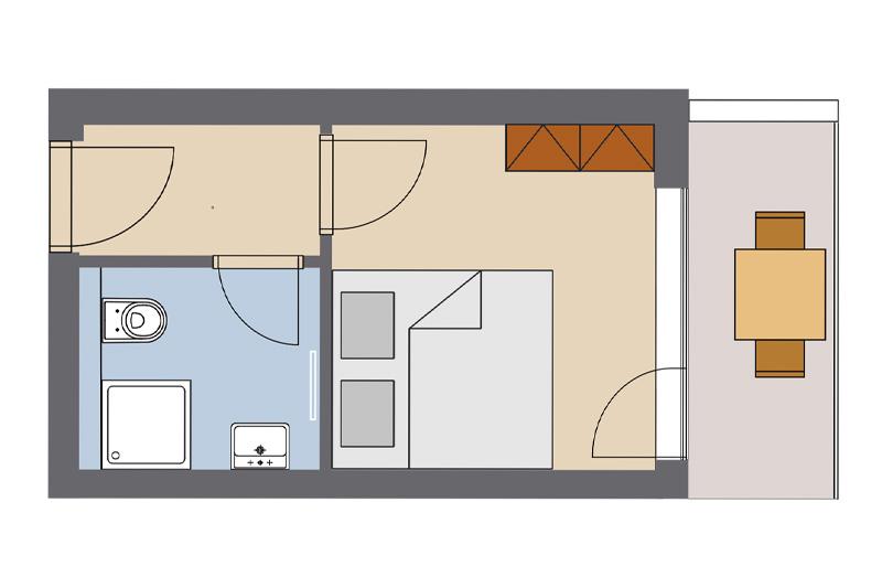 Double room 7, 8